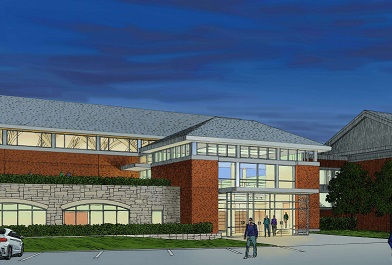 Trinity Pawling Field House Rendering cropped